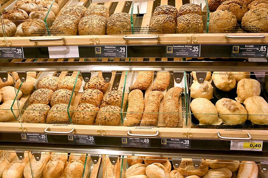 Brot, Semmeln und mehr von EDEKA Motz