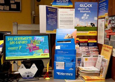 Lotto-Station in EDEKA Motz in Heyerode
