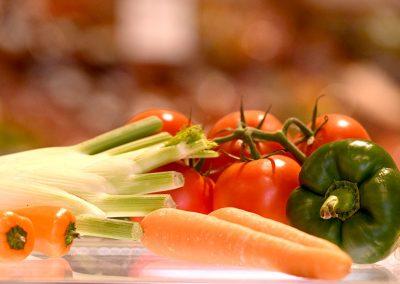 Gesundes Gemüse in Ihrem Supermarkt in Oberdorla