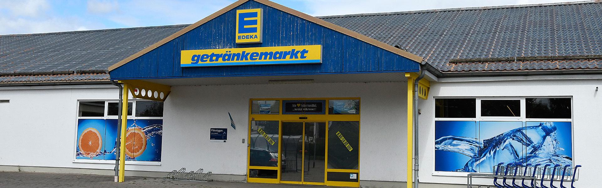 EDEKA Getränkemarkt in Oberdorla