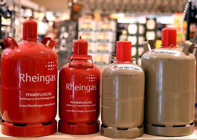 Gasflaschen tauschen bei Getränkemarkt EDEKA in Oberdorla
