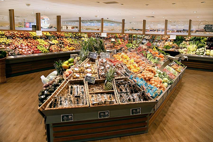 Obst und Gemüse bei EDEKA Motz